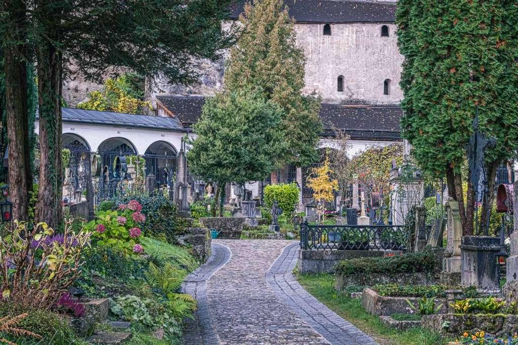 Petersfriedhof Sankt Peter Salzburg Cemetery