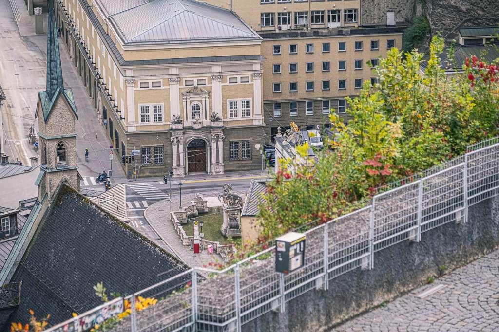 Pferdeschwemme and Festspielhaus Salzburg Austria