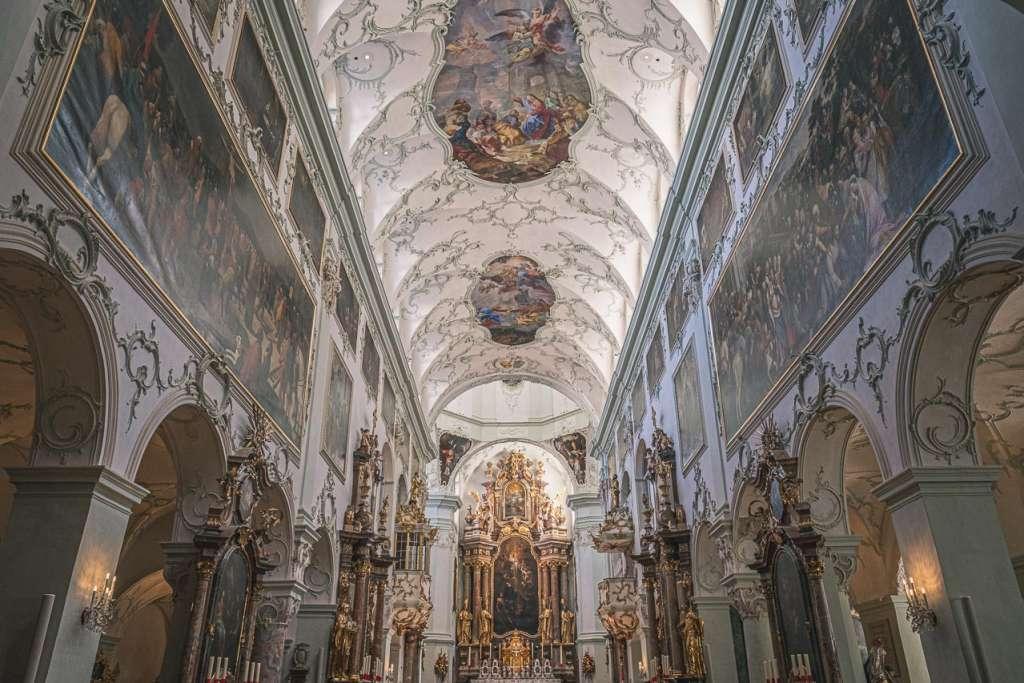 Saint Peters Church in Salzburg Monastery Church