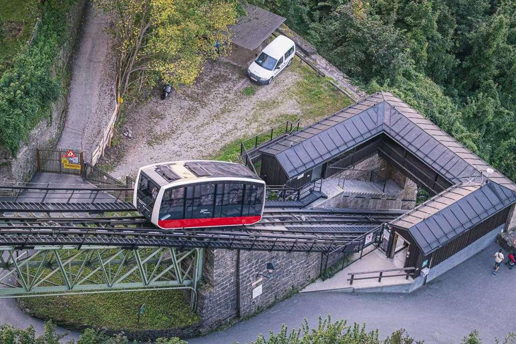 Salzburg AG Festungsbahn Funicular Hohensalzburg Fortress