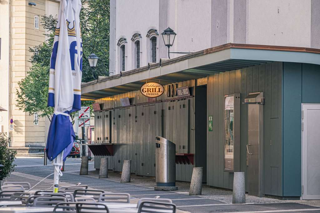 Salzburg Grill Imbiss Sausage Stand