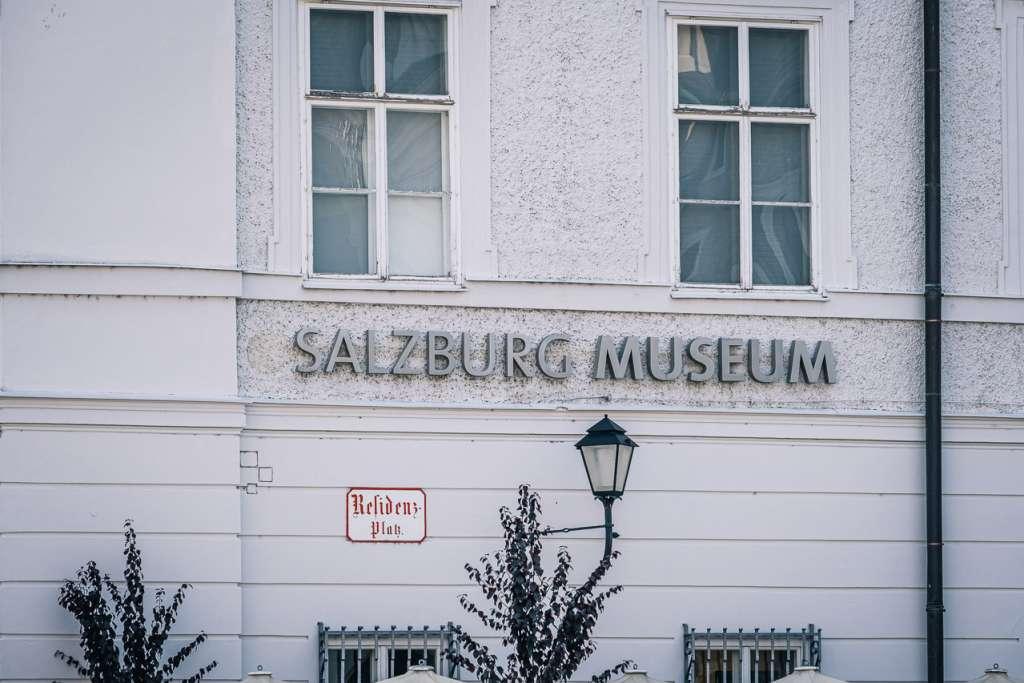 Salzburg Museum New Residence Residence Square