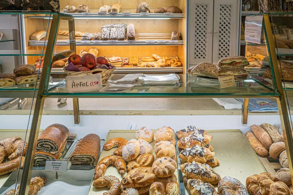 Austrian Bakery for Breakfast in Salzburg
