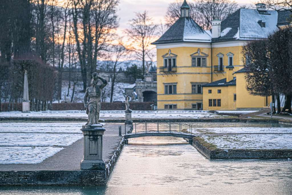 Hellbrunn Park Ponds and Statues