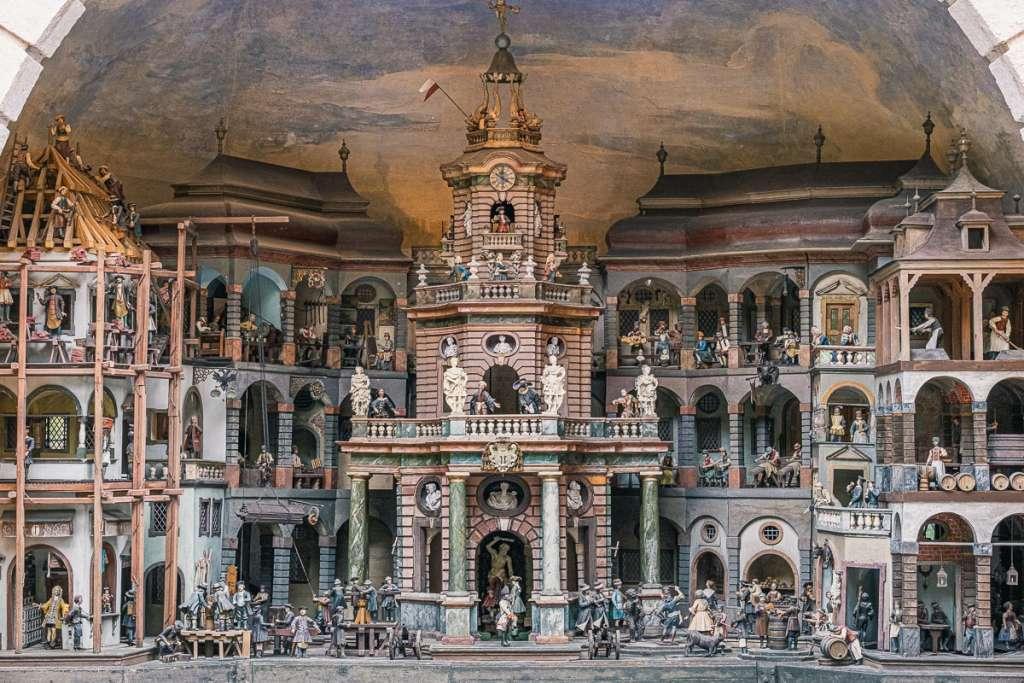Mechanical Theater Trick Fountains Hellbrunn