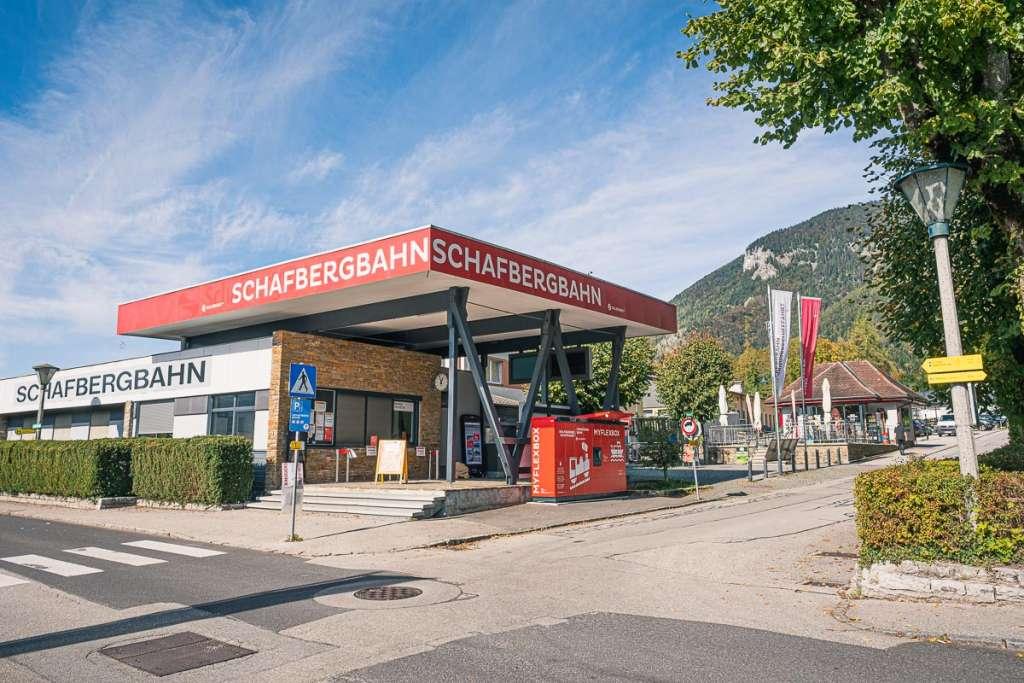 Schafbergbahn Valley Station