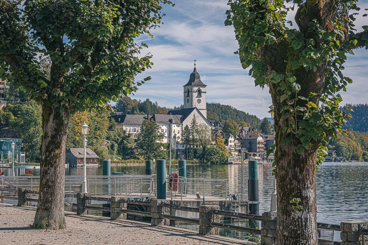 The Austrian Lake District - Sankt Wolfgang Seeufer