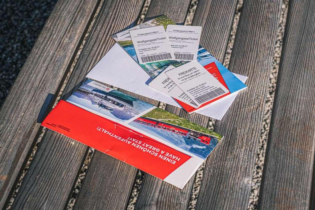 Tickets for the Schafbergbahn