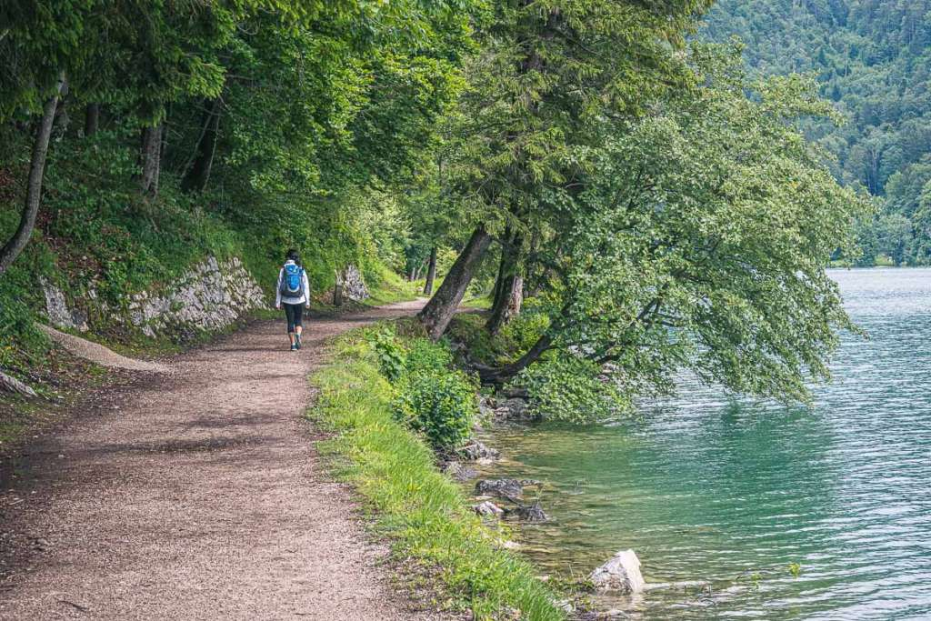 Hiking from St Gilgen to St Wolfgang