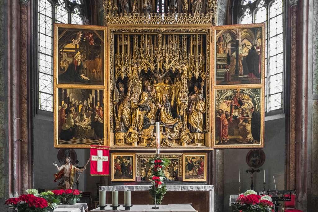 Michael Pacher Altar St Wolfgang